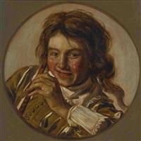 ein junger flötenspieler by frans hals the elder