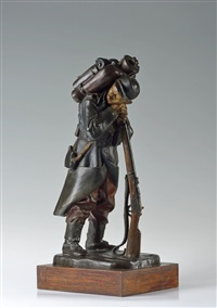 a soldier from nazdar! company by otto gutfreund