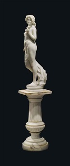 figure of a nude maiden by g. armando