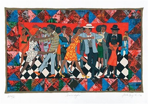 groovin high by faith ringgold