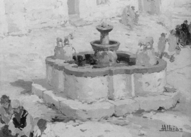 alter marktbrunnen by luca albino