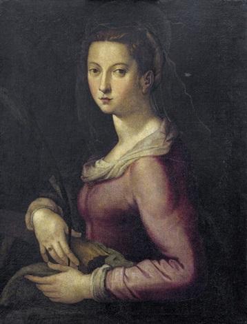 heilige katharina by agnolo bronzino