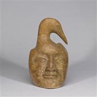 bird mask by abraham apakark anghik