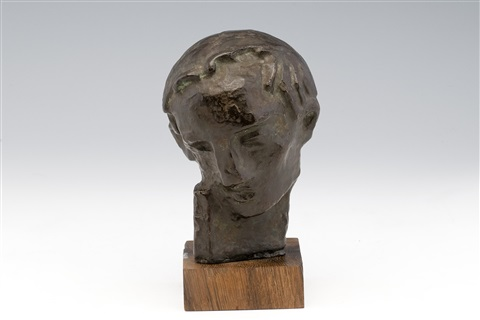 head of a man by wäinö aaltonen
