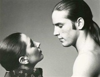 joe dallesandro et geraldine smith sur le tournage du film d'andy warhol et paul morrissey by werner bokelberg