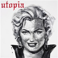 marilyn (from utopia) by enrique chagoya
