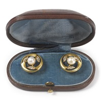 a pair of cufflinks by c. e. bolin