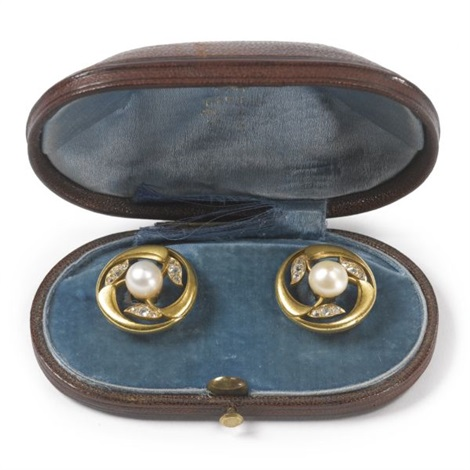 a pair of cufflinks by c e bolin