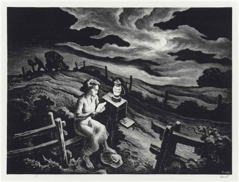 letter from overseas by thomas hart benton