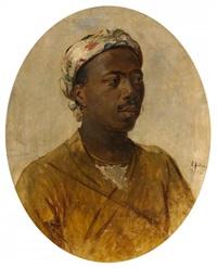 porträt eines jungen inders by karl böker