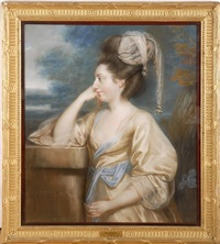portrait of mrs. g. medley by john russell