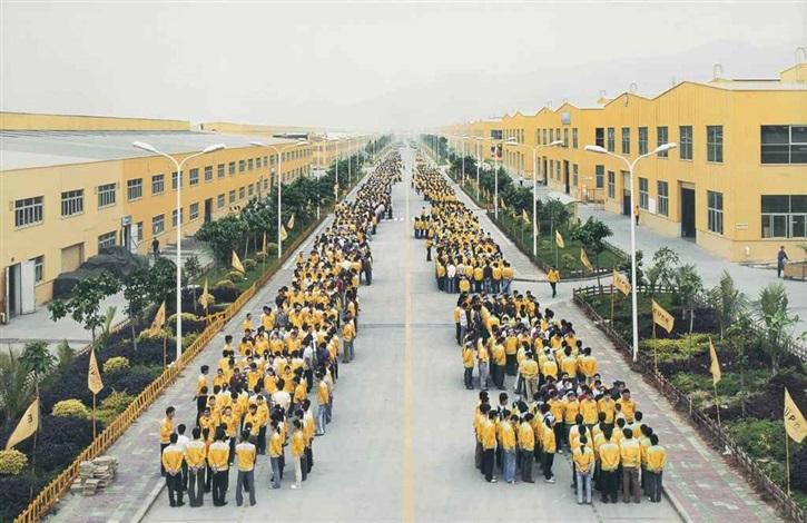 manufacturing 18 cankun factory zhangzhou fujian province by edward burtynsky