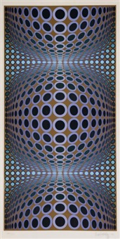 composition cinétique by victor vasarely