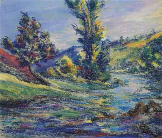 paysage de la creuse by armand guillaumin