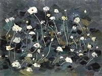 野花 by wu guanzhong
