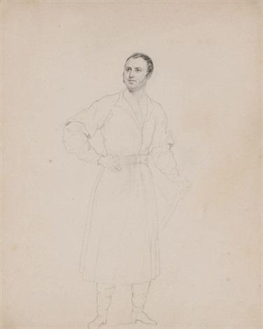 portrait of prince mikhail andreevich obolensky by karl pavlovich bryullov