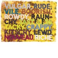 vulgar by mel bochner
