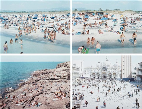 a portfolio of landscapes with figures 52 works by massimo vitali