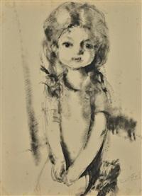 portrait d'anne-marie lafnet by luc lafnet