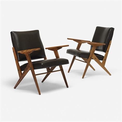 Z Line Lounge Chairs (pair) By José Zanine Caldas
