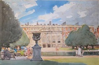hampton court by alfred john billinghurst