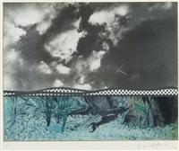 fish and sky (from ten from leo castelli portfolio) by roy lichtenstein
