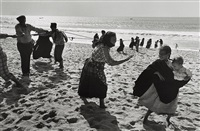 nazaré, portugal, 1956 by edouard boubat