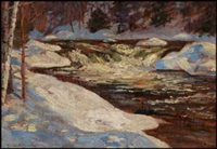 melting snow by william walker alexander