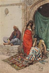 le marché aux esclaves by giulio rosati