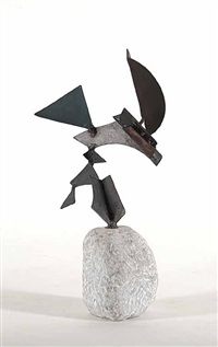 untitled - abstract sculpture by douglas wayne bentham