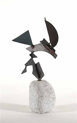 untitled abstract sculpture by douglas wayne bentham