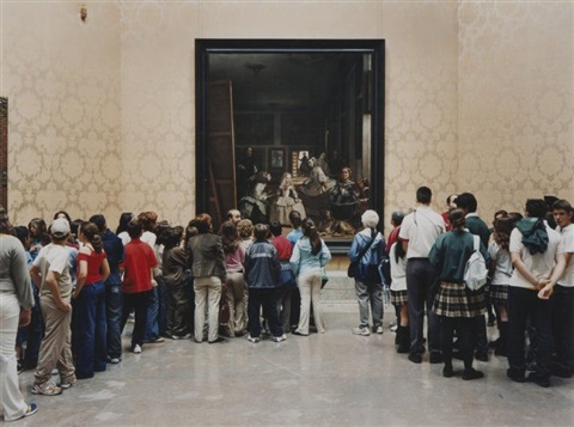museo del prado room 12 madrid by thomas struth