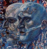 studio di volti by pavel nikolaevich filonov