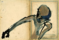 schlafender (+ ohne titel; 2 works) by carsten nicolai