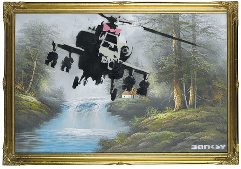 Corrupted Oil By Banksy