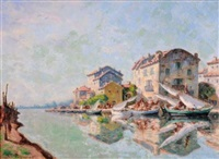 port de l'estérel by auguste pegurier