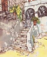 l'escalier au jardin by bernard dufour