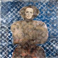 female mosaic by jan stussy