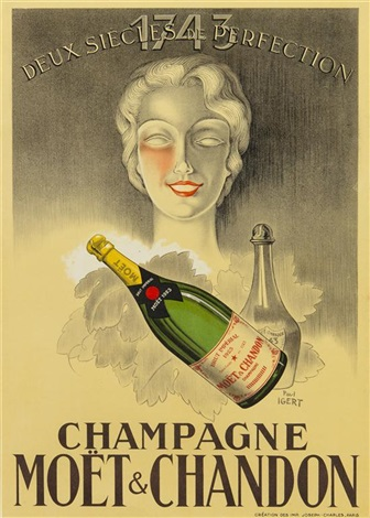 champagne moãt chandon by paul igert