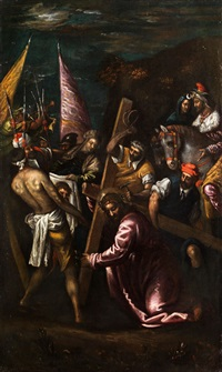 kreuztragung christi by francesco bassano the younger