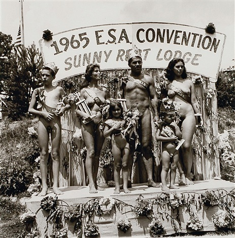 Nudist colony beauty pageant
