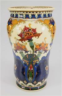 vase by rozenburg ceramics (co.)