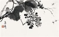 葡萄蜜蜂 by wang xuetao