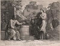 cristo y la samaritana by jean pesne