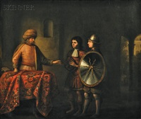 the rug merchant by barent fabritius