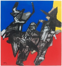 joyeux trio by maurice estève