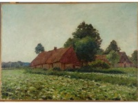 paysage by emile ancelet