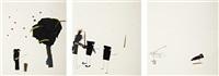 untitled (no eyes to speak of) (+ 2 others; 3 works) by jon pylypchuk