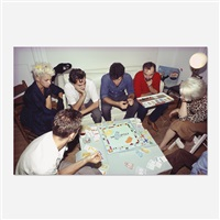monopoly game, nyc by nan goldin