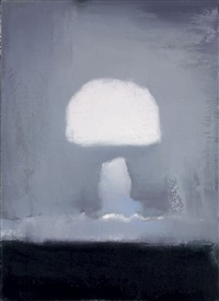 untitled (nuclear bomb) by adrian ghenie